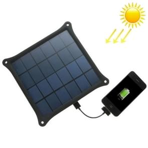 A4W 4.2W 5.0V/ 0.8A Solar Panel Charger(Black)
