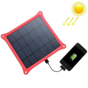 A4W 4.2W 5.0V/ 0.8A Solar Panel Charger(Red)