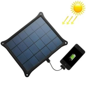 A5W 5W 5.0V/ 1A Solar Panel Charger(Black)