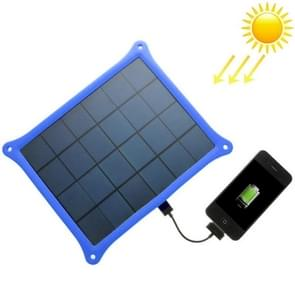 A5W 5W 5.0V/ 1A Solar Panel Charger(Blue)