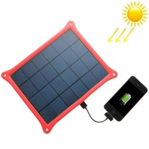 A5W 5W 5.0V/ 1A Solar Panel Charger(Red)