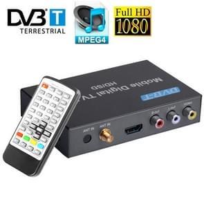 MPEG-4 HD 1080P DVB-T Mobile Car HD / SD Digital TV Box Receiver