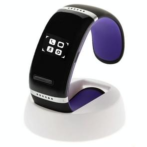 L12S OLED Bluetooth Wrist V3.0 Smart Touch Bracelet Watch for IOS iPhone / Android Samsung / HTC, with Music Player / Handfree / Pedometer(Purple)
