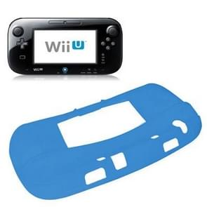 Flexible Silicone Protective Case for Nintendo Wii U(Blue)