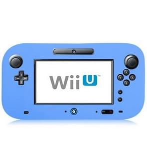 Flexible Silicone Full Protective Case for Nintendo Wii U(Blue)