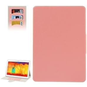 Oracle Leather Case with Credit Card Slots & Holder for Samsung Galaxy Note & Tab  Pro 12.2 / P900(Pink)