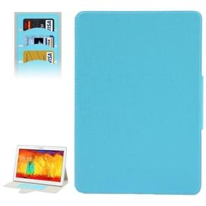 Oracle Leather Case with Credit Card Slots & Holder for Samsung Galaxy Tab Pro 10.1 / T520(Baby Blue)