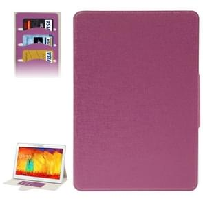 Oracle Leather Case with Credit Card Slots & Holder for Samsung Galaxy Tab Pro 10.1 / T520(Purple)