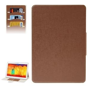 Oracle Leather Case with Credit Card Slots & Holder for Samsung Galaxy Tab Pro 10.1 / T520(Brown)