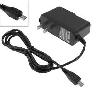 Micro USB Charger for Tablet PC / Mobile Phone, Output:5V / 2A ,US Plug Length:1.1m