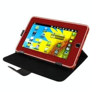 Universal Leather Case with Holder for 7.0 inch Tablet PC(Black)