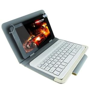 Universal Bluetooth Keyboard with Leather Case & Holder for Ainol / PiPO / Ramos 7.0 Inch / 7.8 Inch / 8.0 Inch Tablet PC (Suitable for S-WMC-0018/S-WMC-0400/S-WMC-0191/S-WMC-0347 Series/S-WMC-0311/S-WMC-1664H/S-WMC-0078B/S-WMC-0055 Series/S-WMC-0042/S-WM