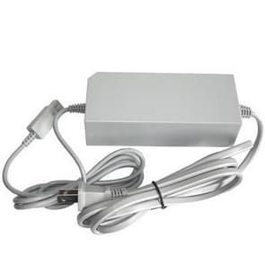 US Plug Power Supply Adapter for Nintendo Wii AC 100~240V(Grey)
