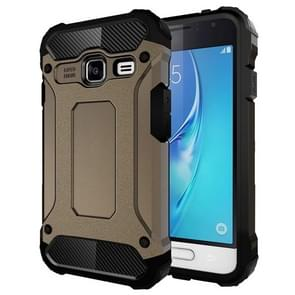 For Samsung Galaxy J1 Mini / J105 Tough Armor TPU + PC Combination Case(Coppery)
