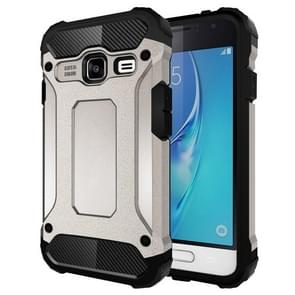 For Samsung Galaxy J1 Mini / J105 Tough Armor TPU + PC Combination Case(Grey)