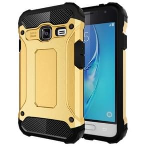 For Samsung Galaxy J1 Mini / J105 Tough Armor TPU + PC Combination Case(Gold)
