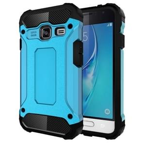 For Samsung Galaxy J1 Mini / J105 Tough Armor TPU + PC Combination Case(Blue)