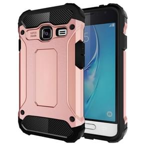 For Samsung Galaxy J1 Mini / J105 Tough Armor TPU + PC Combination Case(Rose Gold)