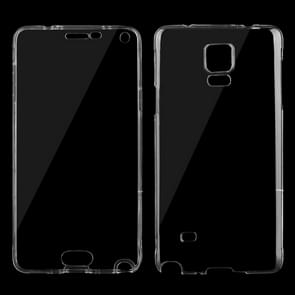 For Samsung Galaxy Note 4 / N910 0.75mm Double-sided Ultra-thin Transparent TPU Protective Case (Transparent)