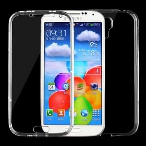 For Samsung Galaxy S4 / i9500 0.75mm Double-sided Ultra-thin Transparent TPU Protective Case (Transparent)