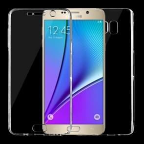For Samsung Galaxy Note 5 / N920 0.75mm Double-sided Ultra-thin Transparent TPU Protective Case (Transparent)