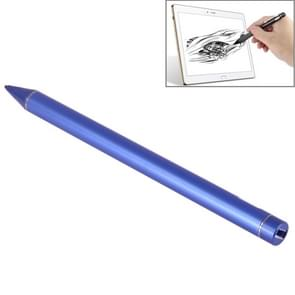 Universal Rechargeable Capacitive Touch Screen Stylus Pen with 2.3mm Superfine Metal Nib for iPhone, iPad, Samsung, and Other Capacitive Touch Screen Smartphones or Tablet PC(Blue)