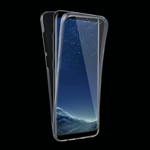 For Samsung Galaxy S8 0.75mm Double-sided Ultra-thin Transparent TPU Protective Case (Grey)