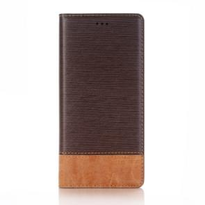 For Samsung Galaxy Note 8 Cross Texture Horizontal Flip Case Cover with Card Slots & Holder & Wallet (Coffee)