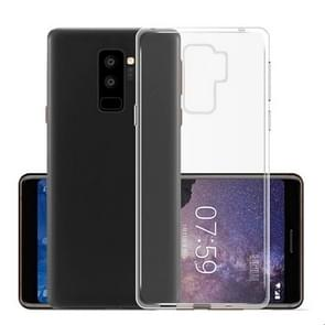 MOFI voor Samsung Galaxy S9+ TPU Transparant beschermings Back Cover hoesje(transparant)