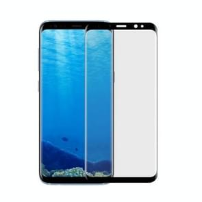 For Samsung Galaxy S8 Angibabe 0.1mm PET Curved Electroplate Front Soft Full Screen Protector Film(Black)