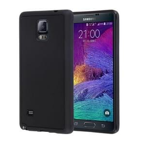 Voor Samsung Galaxy Note 4 / N910 Anti-Gravity Magical Nano-suction Technology Hybrid Sticky Selfie beschermings hoesje(zwart)