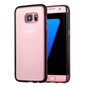 For Samsung Galaxy S7 Edge / G935 Anti-Gravity Magical Nano-suction Technology Sticky Selfie Protective Case(Grey)