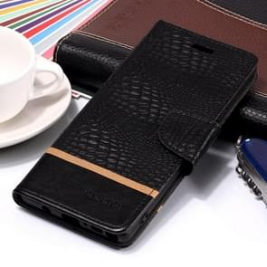 Crocodile Texture Horizontal Flip Leather Case for Galaxy Note9, with Holder & Card Slots(Black)