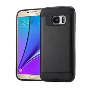 For Samsung Galaxy Note 5 / N920 Brushed Texture PC + TPU Protective Case(Black)