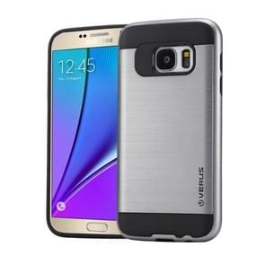 For Samsung Galaxy Note 5 / N920 Brushed Texture PC + TPU Protective Case(Grey)