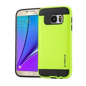 For Samsung Galaxy Note 5 / N920 Brushed Texture PC + TPU Protective Case(Light Green)