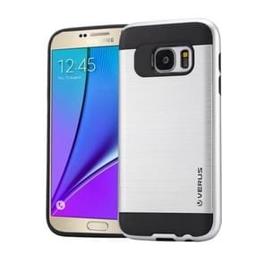 For Samsung Galaxy Note 5 / N920 Brushed Texture PC + TPU Protective Case(Silver)
