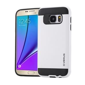 For Samsung Galaxy Note 5 / N920 Brushed Texture PC + TPU Protective Case(White)