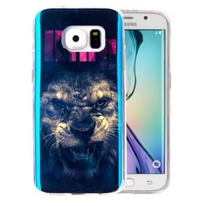 For Samsung Galaxy S6 Edge / G925 IMD The Lion King Pattern Blu-ray Soft TPU Protective Case