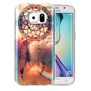 For Samsung Galaxy S6 Edge / G925 IMD Dreamy Dreamcatcher Pattern Blu-ray Soft TPU Protective Case