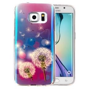 For Samsung Galaxy S6 Edge+ / G928 IMD Dandelions Pattern Blu-ray Soft TPU Protective Case