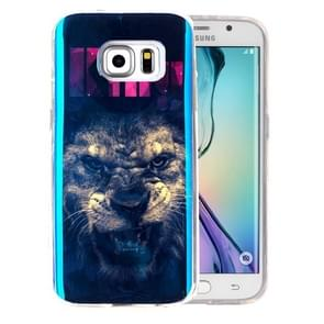For Samsung Galaxy S6 Edge+ / G928 IMD The Lion King Pattern Blu-ray Soft TPU Protective Case