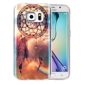 For Samsung Galaxy S6 Edge+ / G928 IMD Dreamy Dreamcatcher Pattern Blu-ray Soft TPU Protective Case