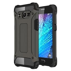 For Samsung Galaxy J2 (2016) / J210 Tough Armor TPU + PC Combination Case(Coppery)