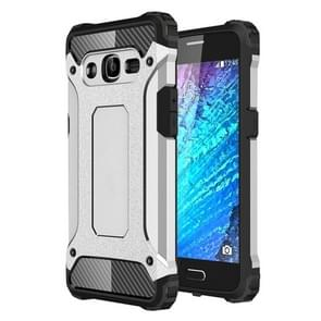 For Samsung Galaxy J2 (2016) / J210 Tough Armor TPU + PC Combination Case(Silver)