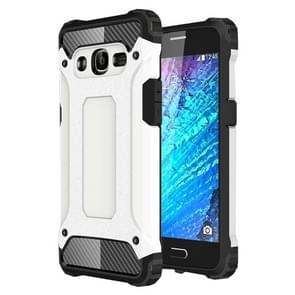 For Samsung Galaxy J2 (2016) / J210 Tough Armor TPU + PC Combination Case(White)