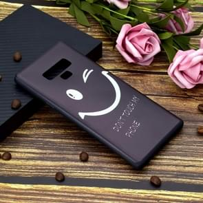 Painted Soft TPU Protective Case For Galaxy Note9(Smiling Face)
