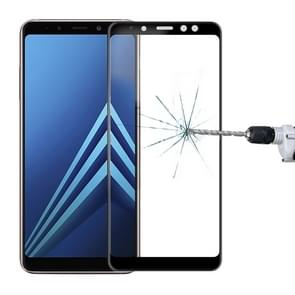 MOFI voor Samsung Galaxy A8 + (2018) / A730 0.3mm 9H Surface Hardness 3D Curved Edge Tempered Glass Screen beschermings