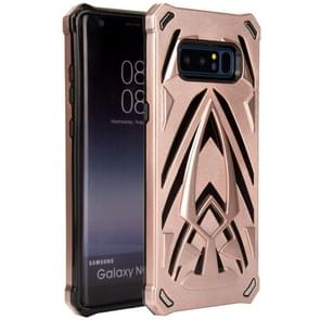 For Samsung Galaxy Note 8 PC + TPU Protective Back Cover Case (Rose Gold)
