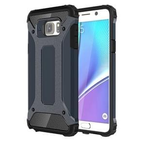 For Samsung Galaxy Note 5 / N920 Tough Armor TPU + PC Combination Case(Dark Blue)